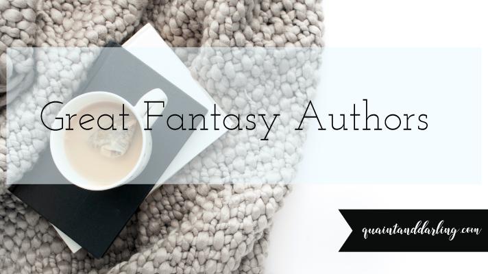 Great Fantasy Authors