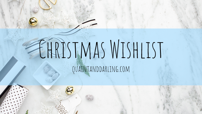 Christmas Wishlist/Gift Guide
