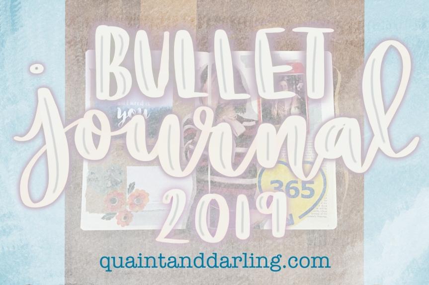 Bullet Journal 2019 |Inspiration