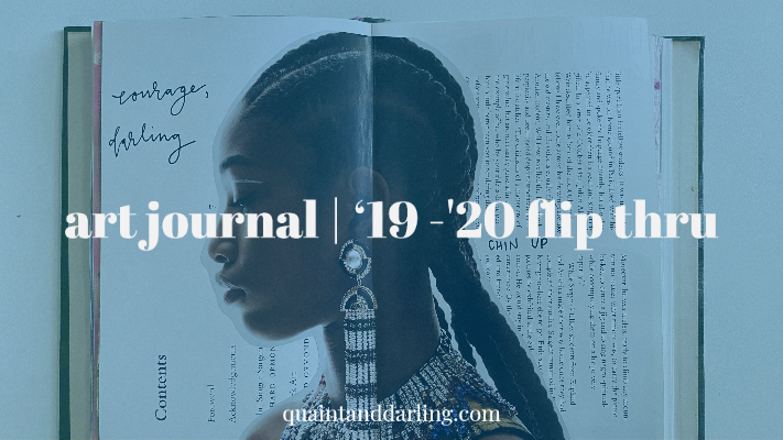 art journal | '19 -'20 flipthru