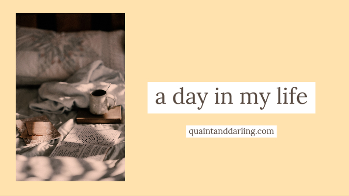 a day in mylife