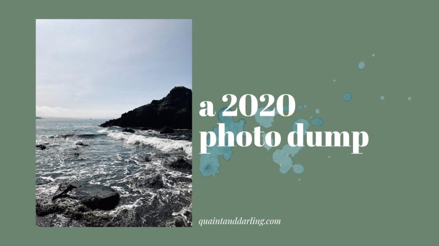 a 2020 photodump